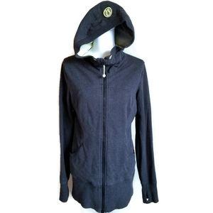 RARE lululemon wear with all jacket grey size 10